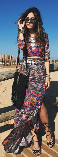 With Sparkle Ethnic Boho Fall Inspo by Fashion Coolture