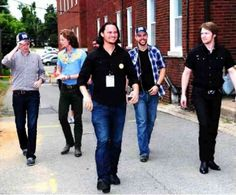 Before their performance, on Tim's birthday Home Free Band, Home Free Vocal Band, Country Bands, Five Guys, Paul Mccartney, Music Bands, Singers, Music Videos, Group
