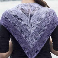 FW248 Purple Gradient Shawl (Free)