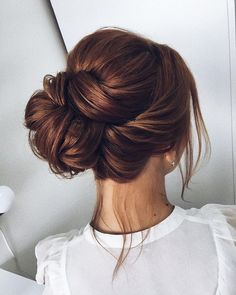 Beautiful updo wedding hairstyle idea - wedding hair ,hairstyle ,updo ,messy updo ,hair updo ideas ,hair ideas ,bridal hair ,#messyupdohair ,wedding hairstyles ,hairstyles #hairsideas