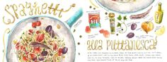 Spaghetti alla Puttanesca<span class='title_artist'> by heegyum kim</span>