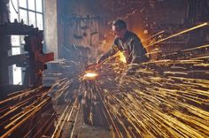 Sparks in the forge -