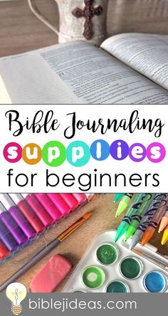 Bible Journaling Supplies for Beginners When I started Bible journaling, I had no idea where to begin. There was so much information out...