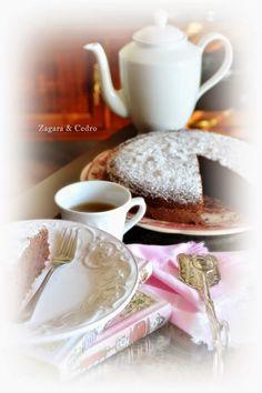 Torta cappuccina con lo yogurt