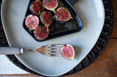 Caramelised figs for raclette dessert