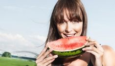 Ak milujete svoje srdce, chráňte ho každým zahryznutím. Watermelon, Fruit