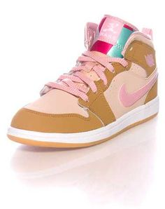 #FashionVault #Jordan #Girls #Footwear - Check this : JORDAN GIRLS Beige-Khaki Footwear / Sneakers 2Y for $29.95 USD