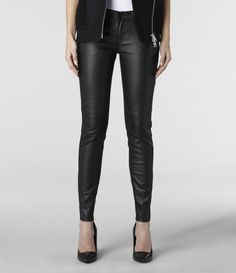 All Saints Rose Ashby.. Great Leather pant, can't even see the pattern until up close!