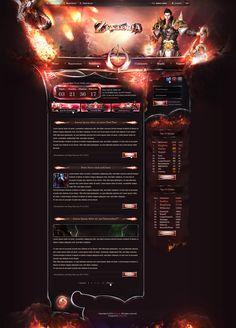 Zentoria - Webdesign by King--Sora.deviantart.com on @deviantART