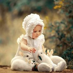 Baby Animals, Cute Animals, White Rabbits, Beautiful Babies, Children Photography, Cute Kids, Cinderella, Disney Characters, Fictional Characters