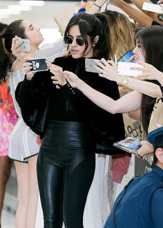 """dailycamilacabello: """" Fifth Harmony arrives at Narita International Airport in Japan on July 7th, 2016. """""""