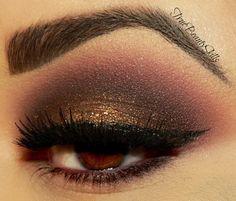 Bittenly True by Stacey R. on Makeup Geek #eyes #eye #makeup #smokey #dramatic #eyeshadow
