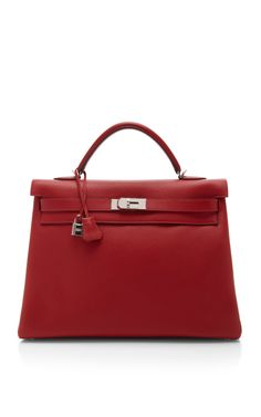 Heritage Auctions Special Collection Hermes 40Cm Rouge Casaque Clemence Leather Retourne Kelly