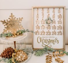 Make a DIY Christmas Countdown Calendar with Dollar Store Supplies   The DIY Mommy