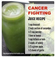 Cancer Fighting Juice Recipe - Tratamiento contra cancer
