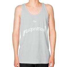 Flexicution Logic Unisex Fine Jersey Tank (on man) Shirt