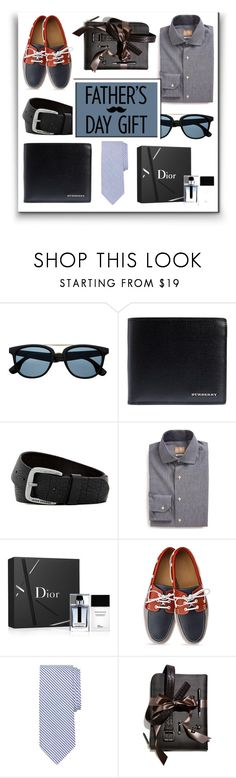 """""""Father's Day Gift Guide"""" by schipillitilaura ❤ liked on Polyvore featuring Burberry, HUGO, Gitman Bros., Christian Dior, Brooks Brothers, Dunhill, men's fashion and menswear"""