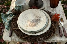 StoneGable: Woodland Tablescape