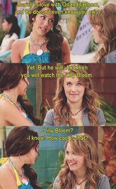 Hannah Montana (seasons 1, 2, and 3 of course :)) #OrlandoBloom