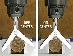 Drill Press center finder