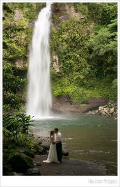 Taveuni Trash the Dress, Fiji Wedding Photography  |  Waterfall Wedding Photos #FijiWedding