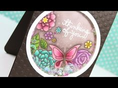 Gorgeous colours: Copic Marker Flower Shaker Card – Color Wednesday #62 « kwernerdesign blog