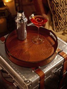 Cantwell Bar Tray - Ralph Lauren Home Barware - RalphLauren.com