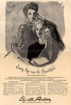 Every Age can be Beautiful . From Duke Digital Collections. Collection: Ad*Access 1949