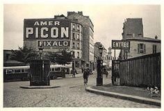 Paris street scene, c. 1920