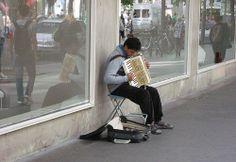 street musician Antwerpen