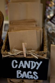 Candy Bags simple an
