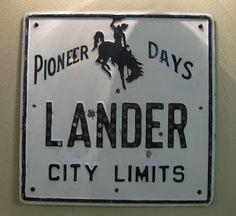 Lander Wyoming my town :)