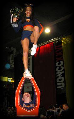 Sarah Jan - National Champs - PCG Vipers #Cheerleading