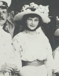 > From the newly released GARF albums: zoom of Grand Duchess Tatiana Nikolayevna of Russia