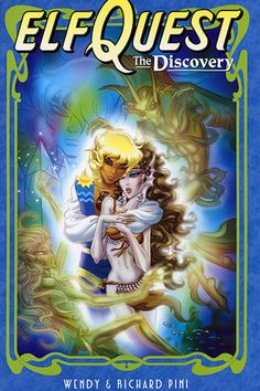 """Elfquest """"The Discovery"""", one of the newest graphic novels from WaRP, and all the drawings are Wendy's  ^^"""