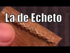 """Costura Escalera con C. adosada «La de Echeto» """"El Rincón del Soguero"""""""