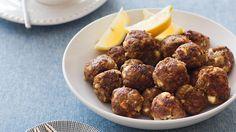 Greek lamb and feta meatballs recipe : SBS Food