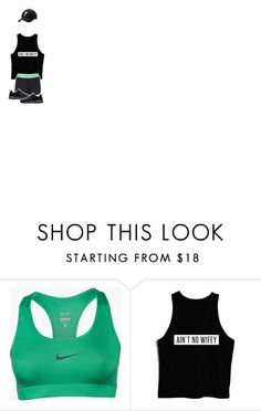 """Good Ol' Run"" by katketenbrink ❤ liked on Polyvore featuring NIKE and Under Armour"