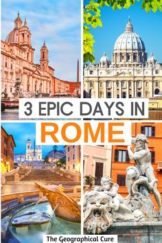 Italy Travel Tips, Rome Travel, Travel Guide, Italy Places To Visit, Rome Guide, Weekend City Breaks, Rome Itinerary, Day Trips From Rome, Hiking Europe