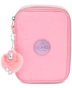Kipling 100 Pens Case, Cute Purses, Pink Purses, Small Purses, Silver Purses, Cute Pencil Case, Kipling Bags, Converse With Heart, Cute School Supplies