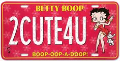 2 Cute 4 U - More Betty Boop graphics & greetings ➡  http://bettybooppicturesarchive.blogspot.com/  ~And on Facebook~ https://www.facebook.com/bettybooppictures  Betty Boop and her dog Pudgy