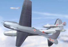 Mikoyan-Gurevich MiG-9 Fargo Fighter Free Aircraft Paper Model Download