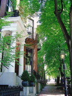 dreamguide:  Beacon Hill, Boston