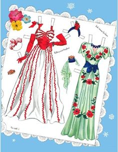Lily Tyrell, Restyled Paper Doll Book by Hilda Miloche: Judy M Johnson, Hilda Miloche: Amazon.com: Books