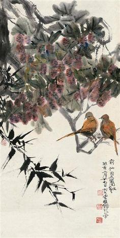 Wang Dawen - Birds and Flowers on MutualArt.com