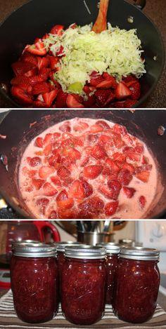 No Sugar & Pectin Strawberry Honey Jam