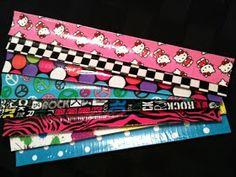 Duct Tape Slap Bracelet
