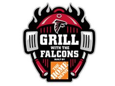 Dribbble - Atlanta Falcons Grill with the Falcons identity by Raul Ferran