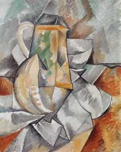 Georges Braque - The Pitcher, 1909 at Barnes Foundation Philadelphia PA Henri Matisse, Pablo Picasso, Alberto Giacometti, Georges Braque Cubism, Francis Picabia, Cubism Art, Rene Magritte, Art Moderne, French Art