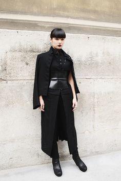 bold and gothic / #streetstyle / #MIZUstyle